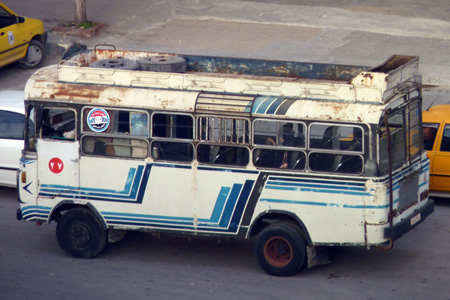 Bus in Syria