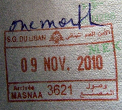 Lebanon visa
