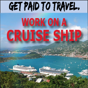 Work on cruise ships