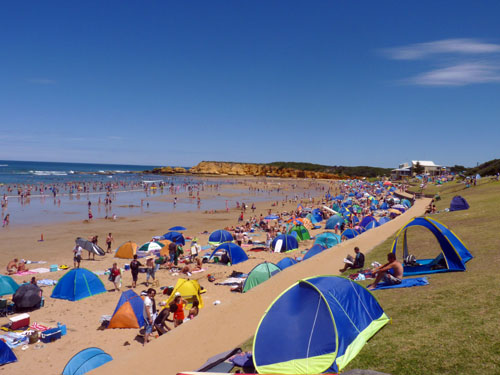 Surf Beach in Torquay
