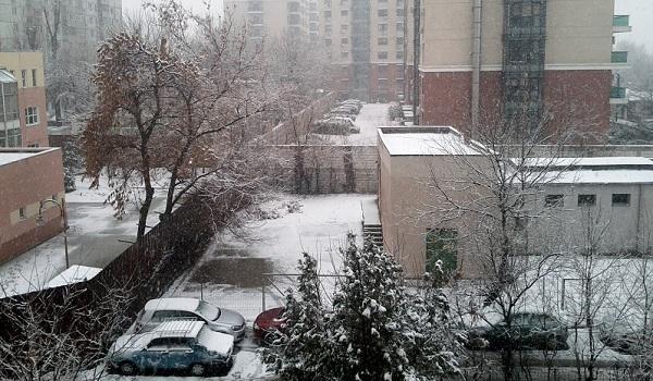 Eastern European Winter - Bucharest