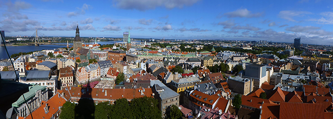 View of Riga, Latvia