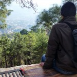 Staring Over the Kangra Valley