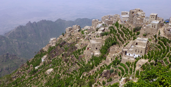 Travel to Yemen - Burra Mountains, Yemen