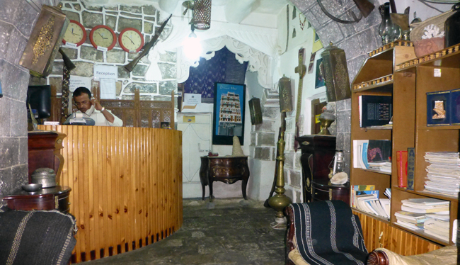 Dawood Hotel, Sanaa, Yemen (lobby)