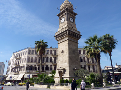 Clocktower in Aleppo, Syria