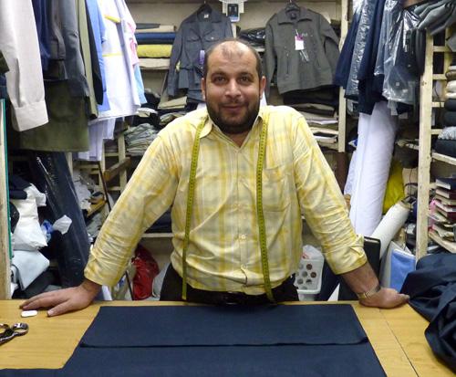 Tailor in Aleppo, Syria