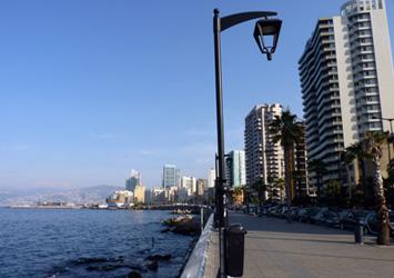 Cornice, Beirut, Lebanon
