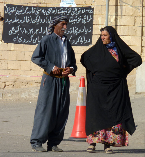 Kurdish couple in Iraq
