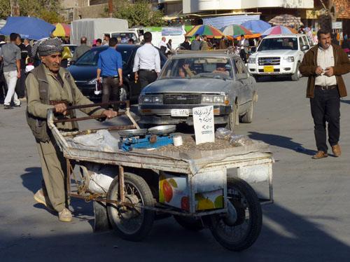 Kurdish man in Sulamainyah, Iraq