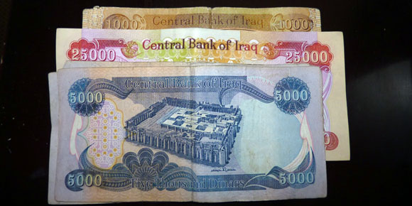 Travel In Iraqi Kurdistan - Iraqi Dinars