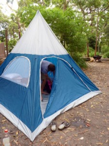 Jervis Bay Campsite
