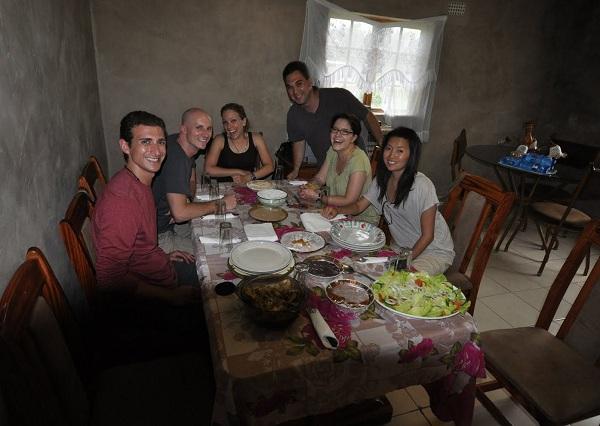 Lunch at Khula Township