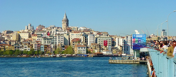 Galata Bridge, Istanbul Turkey