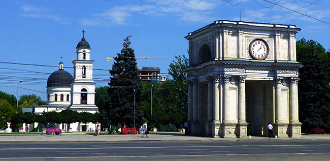 Cathedral Park, Chisinau
