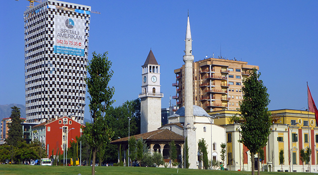 Tirana Clock Tower, Albania