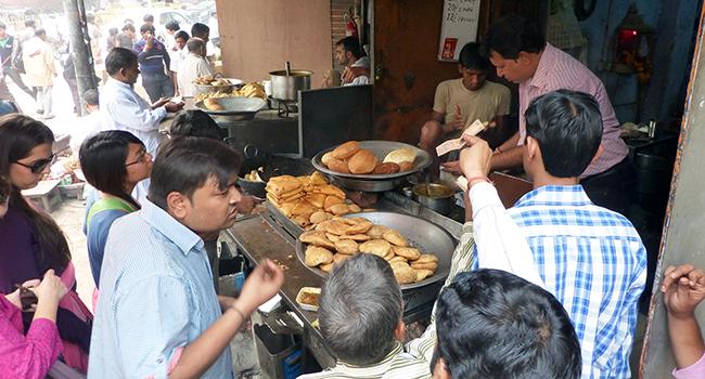 Street Vendor in Delhi