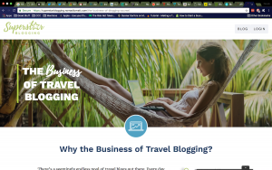 Starting a travel blog - The Business of Travel Blogging
