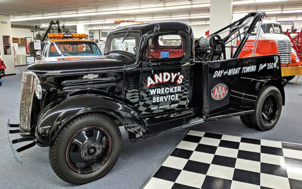 International Towing and Recovery Museum - Andy's Wrecking Service