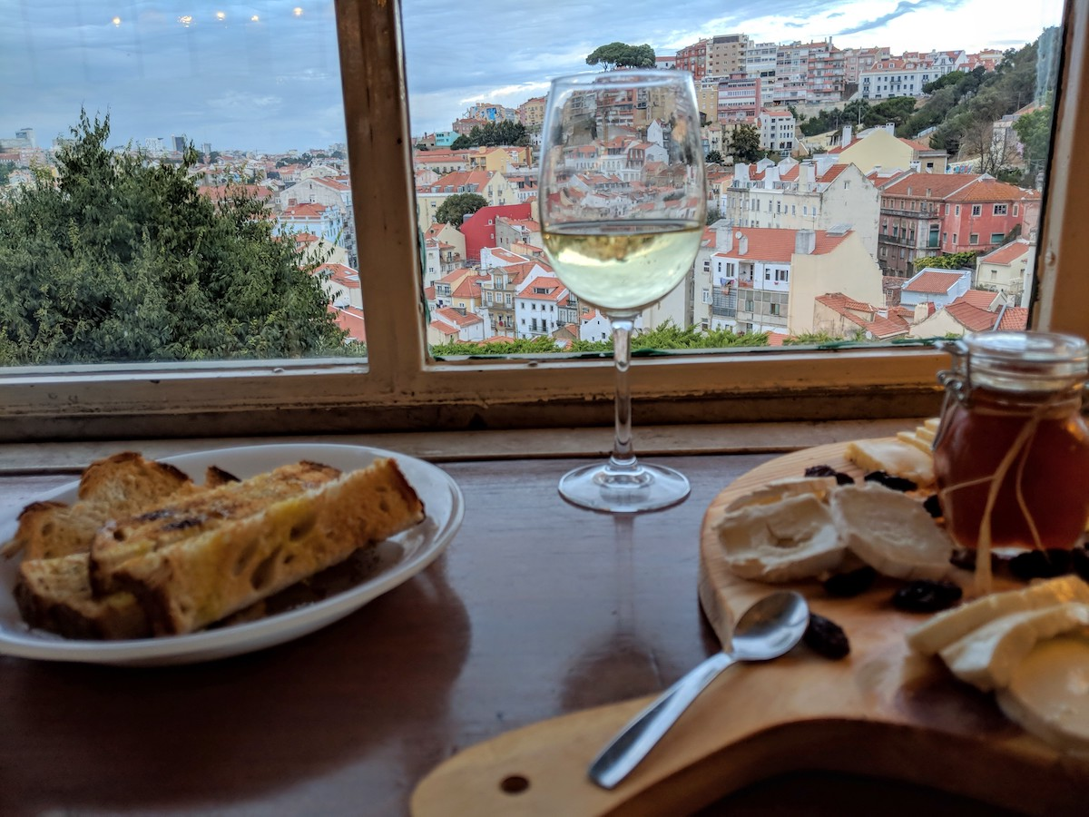 Best Cafe in Lisbon - view
