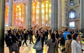 Tourist Crowds - Barcelona