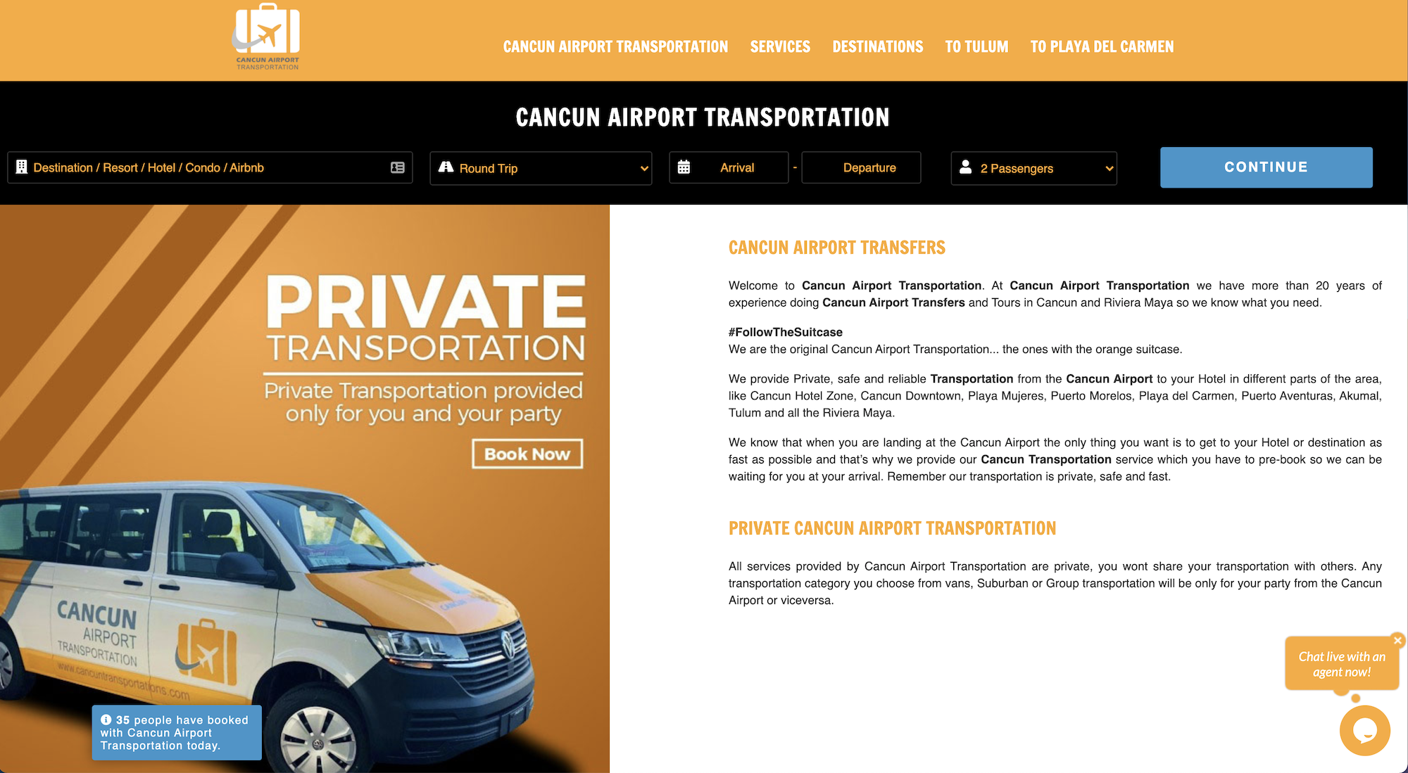 Cancun Airport Private Transfer Options