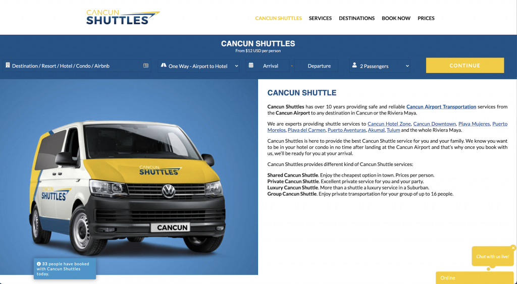 Cancun Shuttle - Shared Airport Transportation